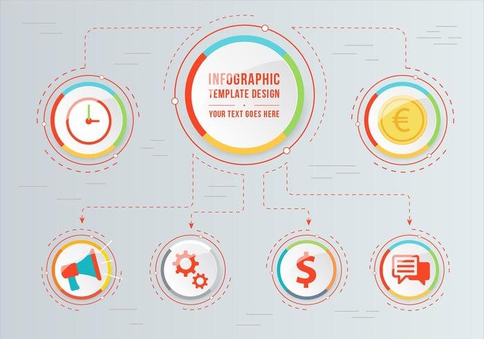 Free Vector Infographic Illustration