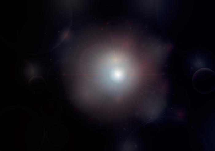 Starry, Gas, Nebel, Supernova und Weltraum-Hintergrund