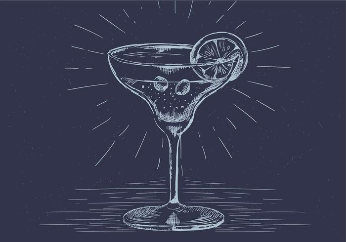 Free Hand Drawn Vector Drink Illustration
