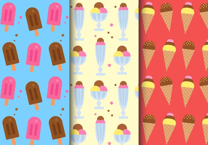 Patrón de helado gratis
