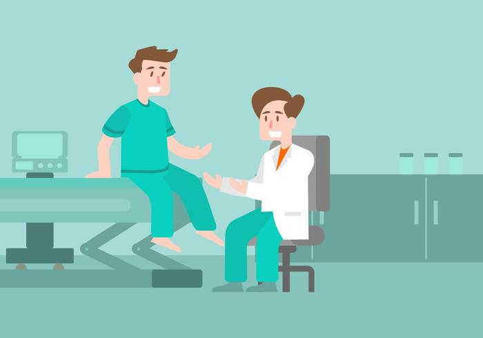 Physiotherapist Illustration