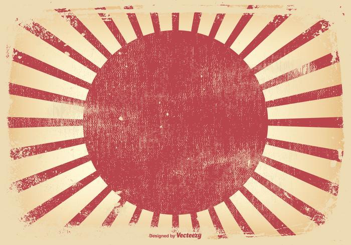 Kamikazi Style Grunge Background