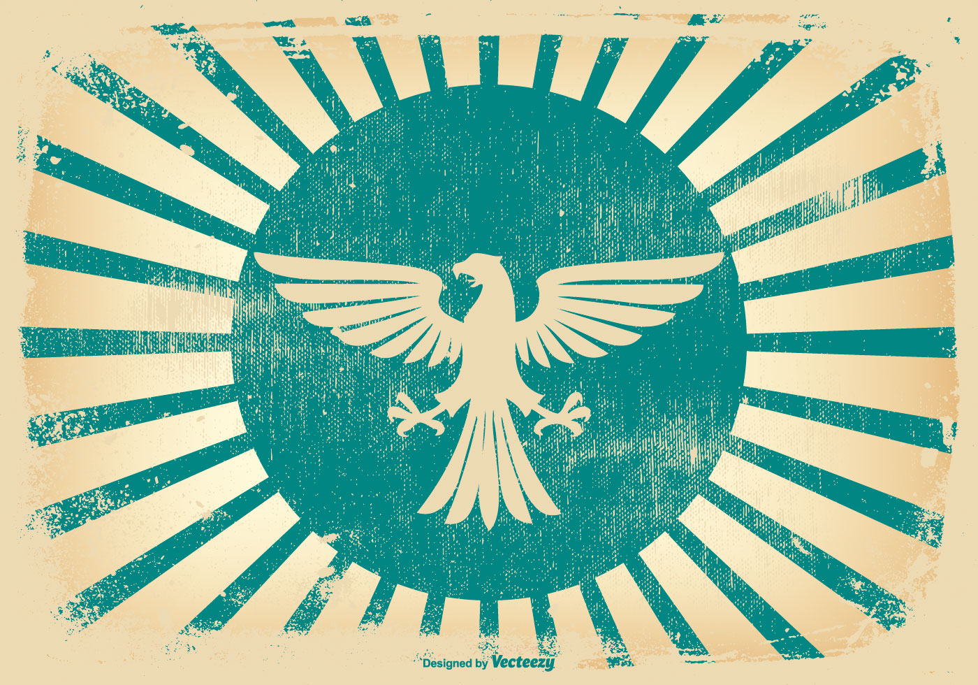 Retro Grunge Eagle Background Download Free Vectors