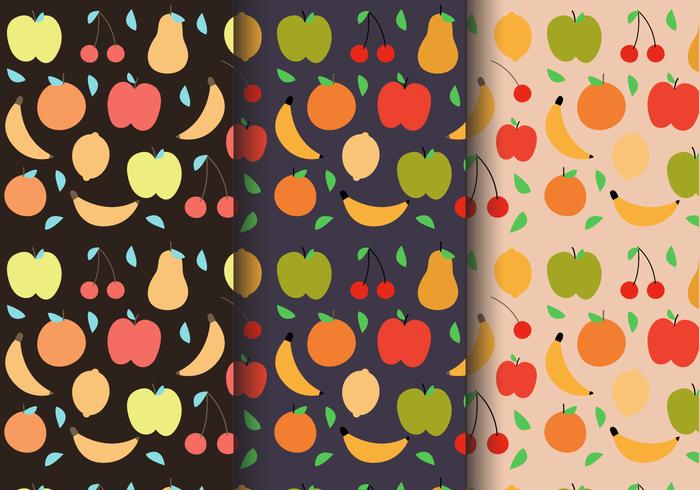 Padrão de frutas de verão grátis