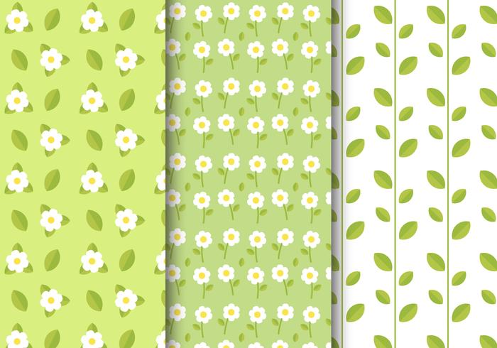 Motif floral de printemps gratuit