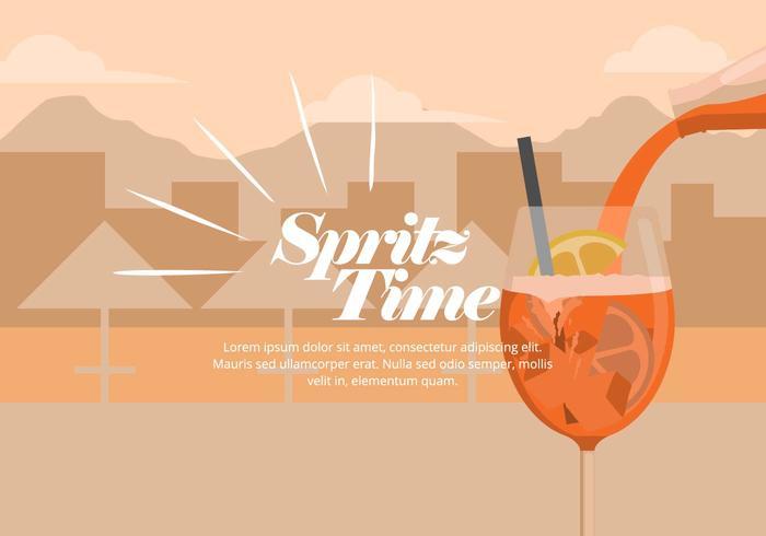 illustrazione di spritz