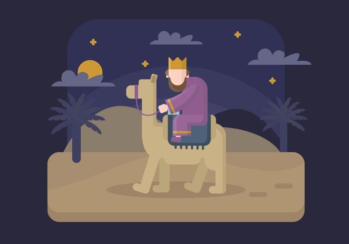 Epifanie Illustratie
