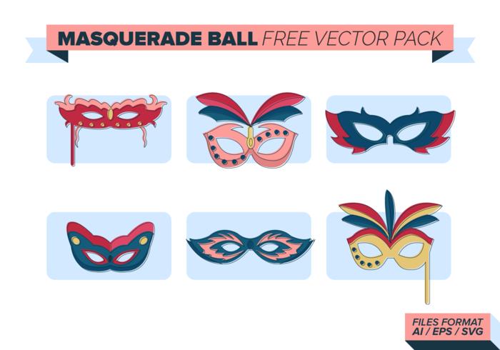 Masquerade Ball Free Vector Pack