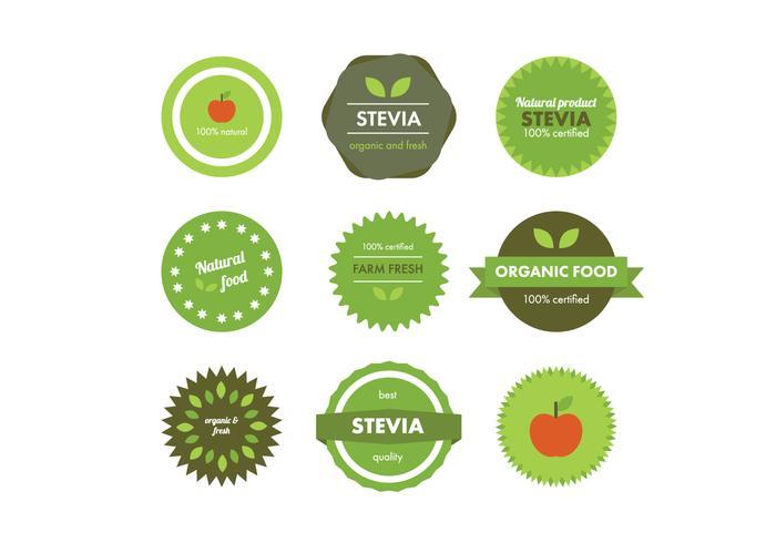Natural Food Badges