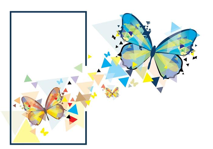 Mariposa Mosaic illustration
