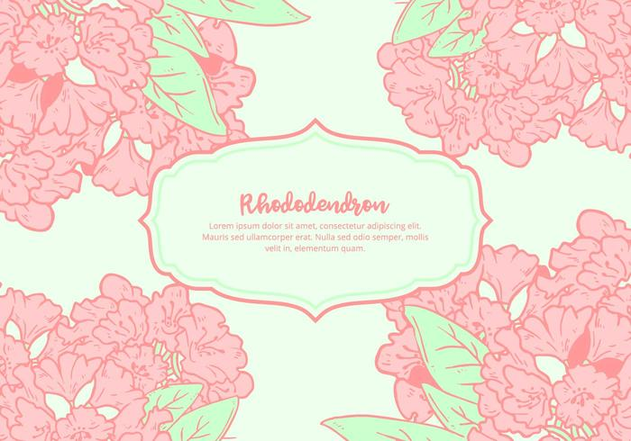 Background Rhododendron