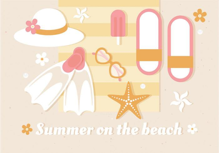 Free Summer Vector Illustration