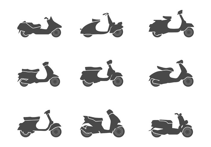Scooter Icon Vector