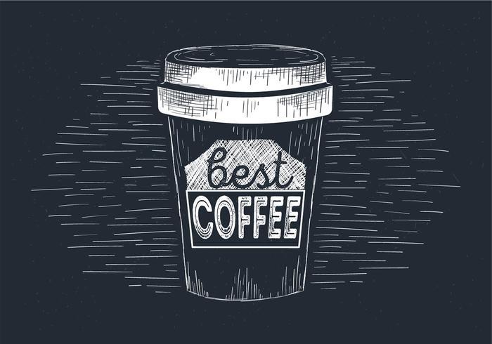 Hand Drawn Vector Coffee Illustration