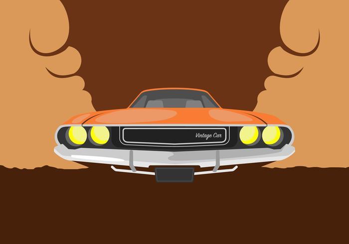 Dodge Car Illustration vektor