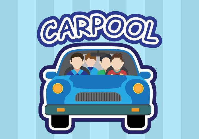 Carpool vector - Download Free Vectors, Clipart Graphics & Vector Art