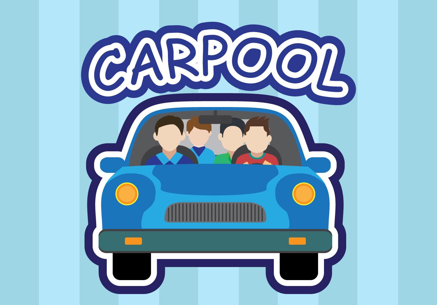 Carpool Vector Download Free Vector Art Stock Graphics Amp Images