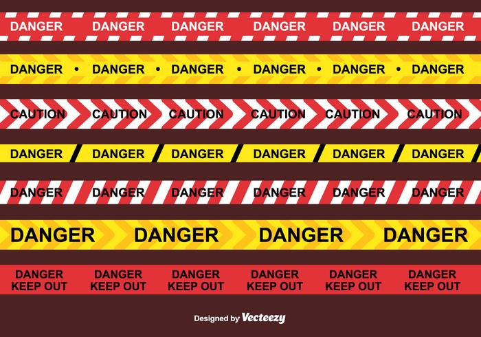 Danger Tape Vector