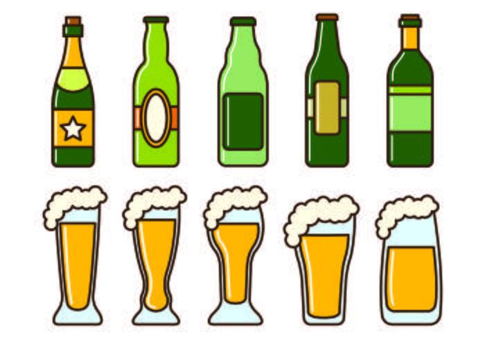 Conjunto De ícones Cerveja