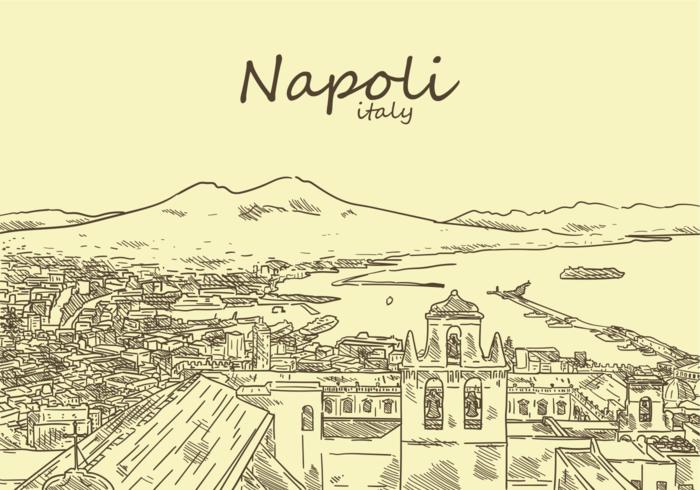 Free Hand Drawn Napoli Vectors