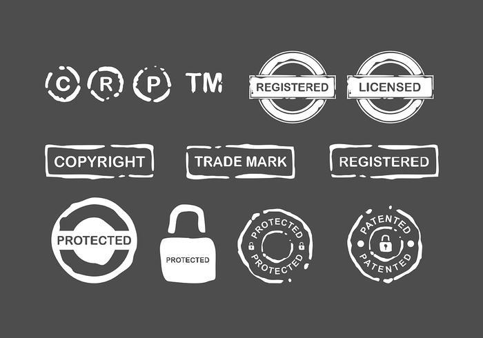Copyright Stempelfreier Vektor