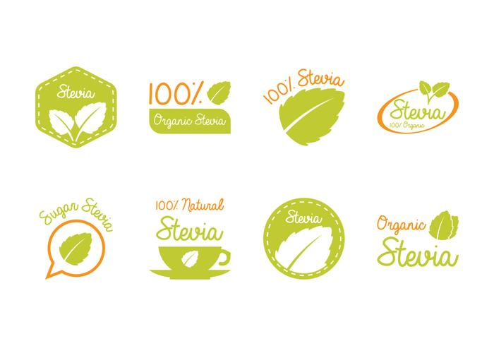 Stevia Label and Logo