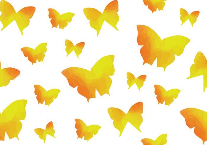 Reticolo senza giunte della farfalla dell'acquerello