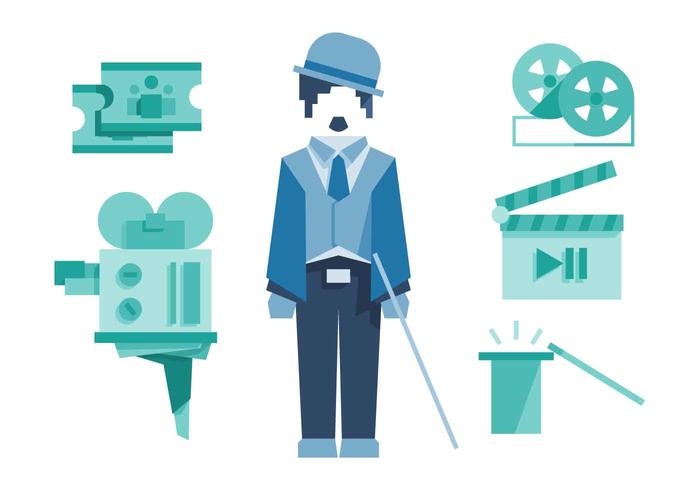 Free Unique Charlie Chaplin Vectors