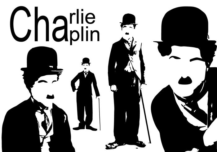 Charlie Chaplin Silhouette Download Free Vector Art Stock