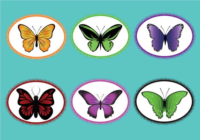 Mariposa Vector Pack