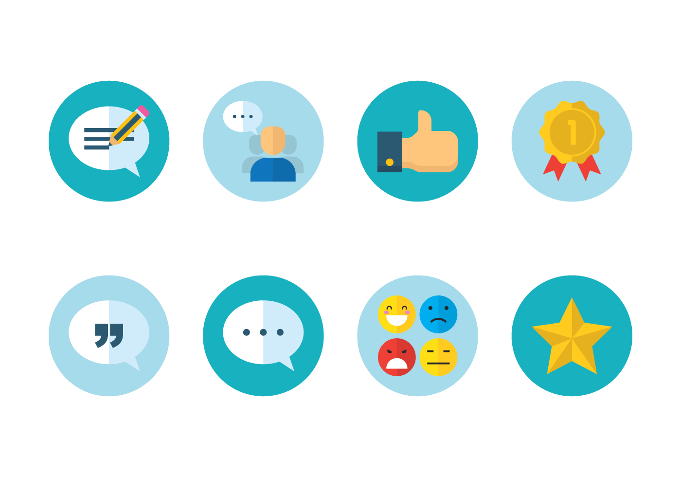 customer review icon download free vector art stock