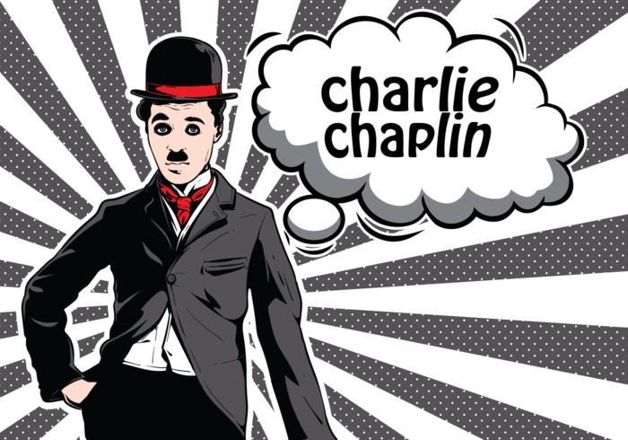 Charlie Chaplin Illustration