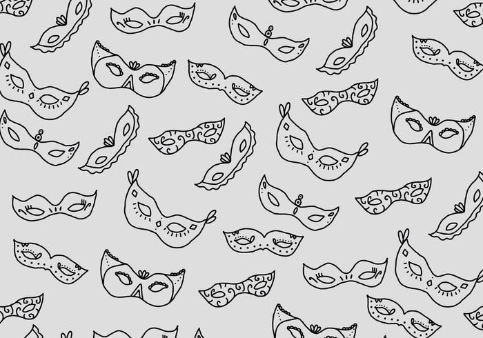 Masquerade Ball Pattern