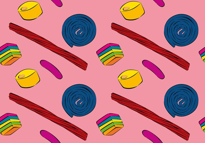 Licorice Candy Free Vector