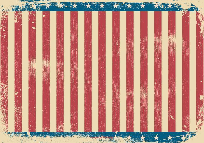 Grunge Patriotic Style Background
