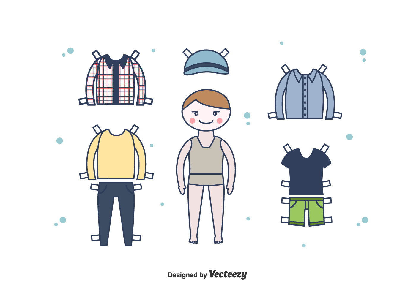Diy Couture Paper Doll Clothing Template Paper Dolls Clothing