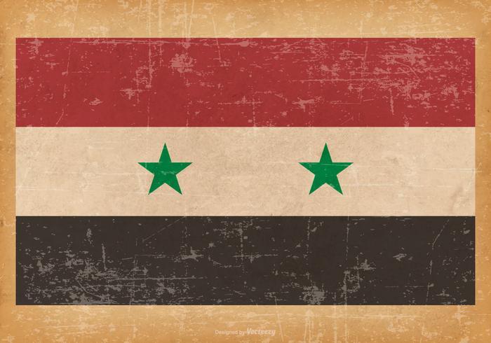 Grunge Flag of Syria