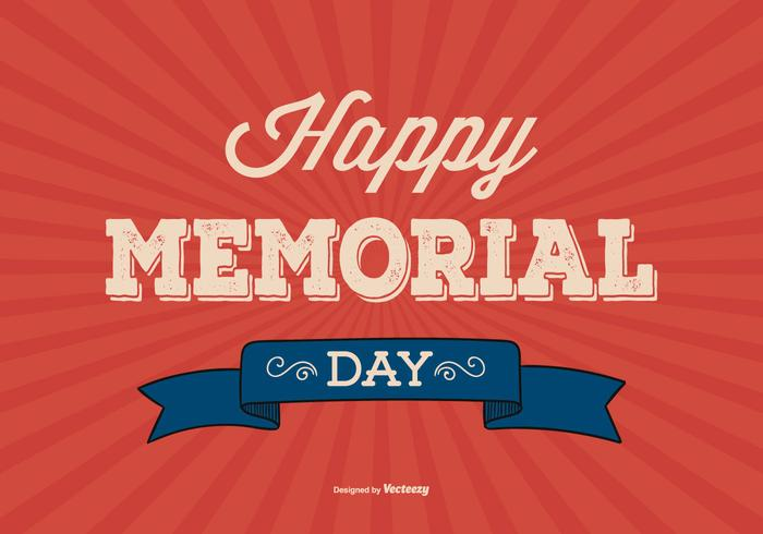 Memorial Day Background Illustration