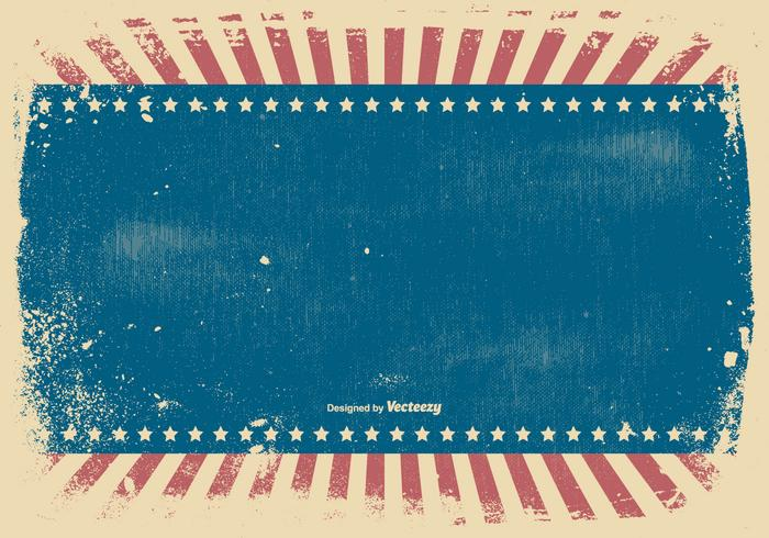 Patriotic Grunge Style Background