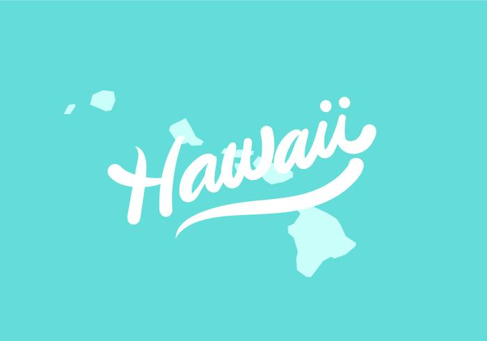 Letra del estado de Hawaii