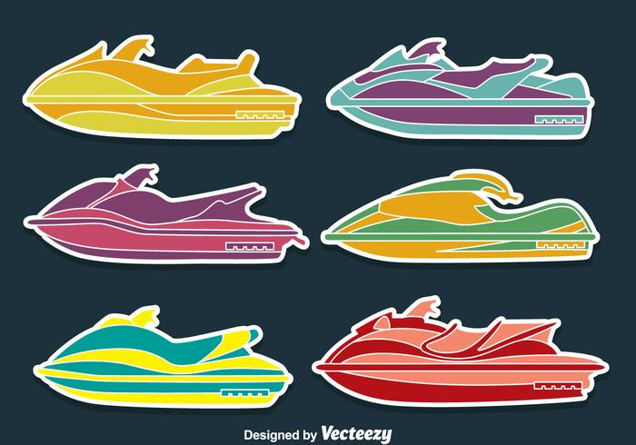 Water Jet Collection Vectors