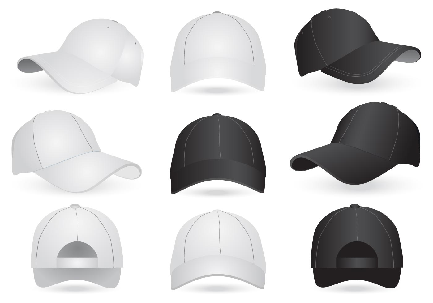 vector mockup templates of cap and hat download free Person with Question Mark Clip Art Question Mark Border Clip Art