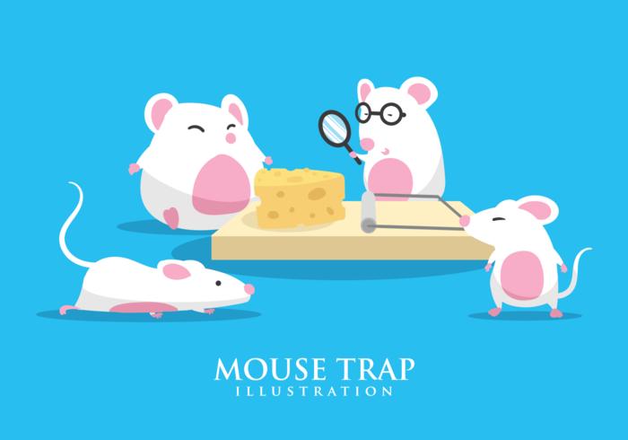 Mouse Trap Illustration