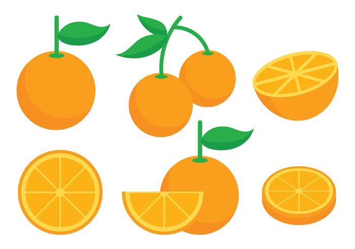 Clementine Vector Icons