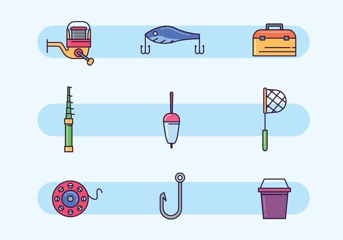 Colorful Fishing Equipment