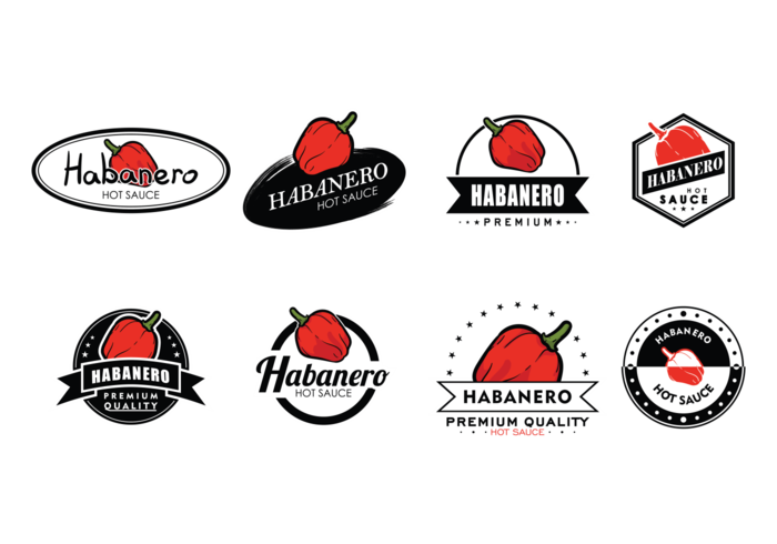 Habanero Labels Vector