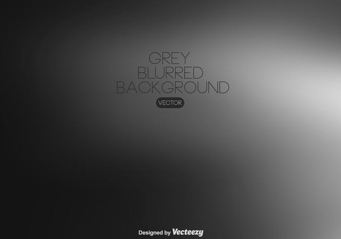 Vector Grey Blurred Background