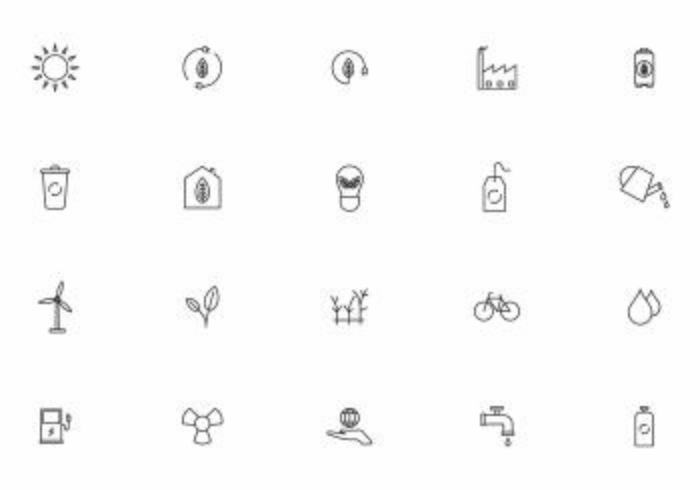 Free Earth Day Vector Icons