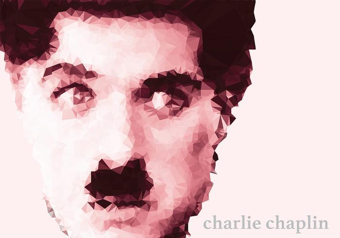 Vetor do fundo de Charlie Chaplin
