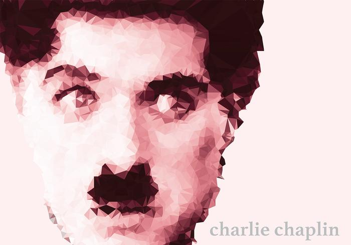 Charlie Chaplin Background Vector